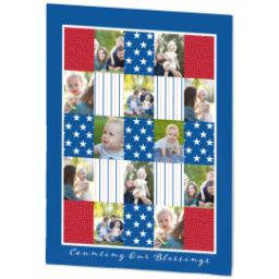 Thumbnail for 60x80 Plush Fleece Blanket with Americana design 2