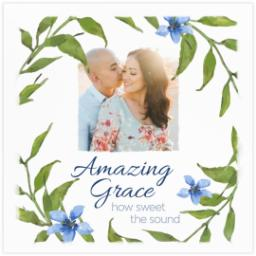 Thumbnail for 16x16 Photo Canvas with Amazing Grace design 2