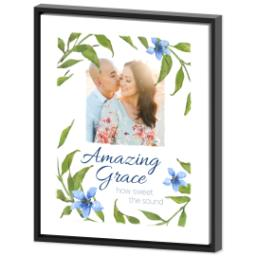 Thumbnail for 16x20 Photo Canvas With Floating Frame with Amazing Grace design 2