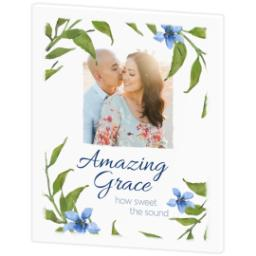 Thumbnail for 20x24 Photo Canvas with Amazing Grace design 3