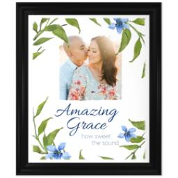 Thumbnail for 20x24 Photo Canvas With Traditional Frame with Amazing Grace design 1
