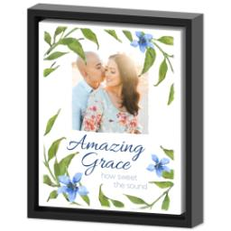 Thumbnail for 8x10 Photo Canvas With Floating Frame with Amazing Grace design 2