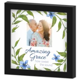 Thumbnail for 8x8 Photo Canvas With Contemporary Frame with Amazing Grace design 2