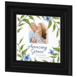 Thumbnail for 8x8 Photo Canvas With Traditional Frame with Amazing Grace design 2