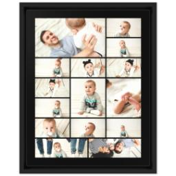 Thumbnail for 11x14 Collage Canvas With Floating Frame with Custom Color Collage design 1