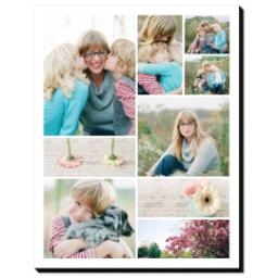 Thumbnail for 11x14 Collage Mounted Photo with Custom Color Collage design 1
