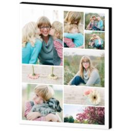 Thumbnail for 11x14 Collage Mounted Photo with Custom Color Collage design 2