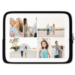 Thumbnail for Photo Collage Laptop Sleeve, Medium with Custom Color Collage design 1
