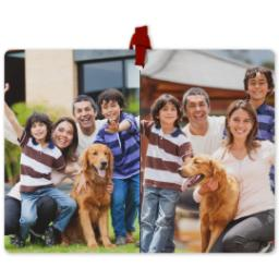 Thumbnail for Photo Collage Ornament with Custom Color Collage design 1