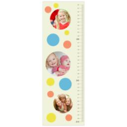 Thumbnail for Photo Growth Chart with Happy Dots design 1