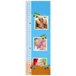 Thumbnail for Photo Growth Chart with Keep On Truckin design 1
