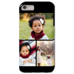 Thumbnail for iPhone 6/6s Plus Photo Tough Phone Case with Gallery Black Collage for 3 design 1