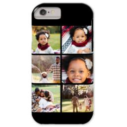Thumbnail for iPhone 6 Custom Case-Mate Tough Phone Case with Gallery Black Collage for 6 design 1