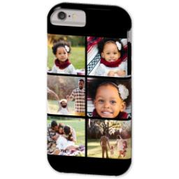 Thumbnail for iPhone 6 Custom Case-Mate Tough Phone Case with Gallery Black Collage for 6 design 2