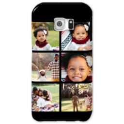 Thumbnail for Samsung Galaxy S6 Photo Tough Phone Case with Gallery Black Collage for 6 design 1