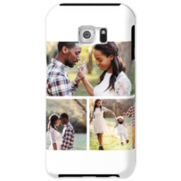 Thumbnail for Samsung Galaxy S6 Photo Tough Phone Case with Gallery White Collage for 3 design 1