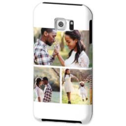 Thumbnail for Samsung Galaxy S6 Photo Tough Phone Case with Gallery White Collage for 3 design 2