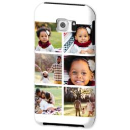 Thumbnail for Samsung Galaxy S6 Photo Tough Phone Case with Gallery White Collage for 6 design 2