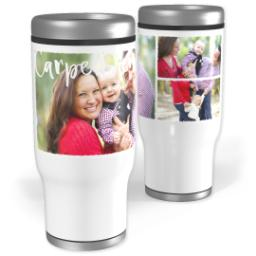 Thumbnail for Stainless Steel Tumbler, 13oz with Carpe Diem design 1
