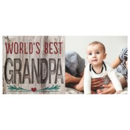 Thumbnail for Stainless Steel Photo Travel Mug, 14oz with World's Best Natural Grandpa design 2