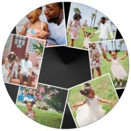 Thumbnail for 10x10 Melamine Photo Plate with Custom Color Snapshot Collage design 1