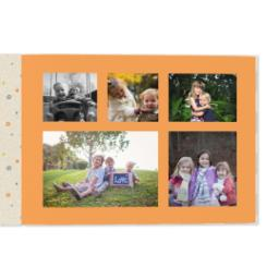 Thumbnail for 8x11 Premium Layflat Photo Book with Kraft Paper Pop design 4