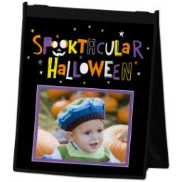 Thumbnail for Reusable Grocery Bag with Spooktacular Hallowen design 2
