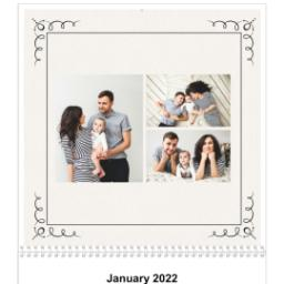 Thumbnail for 12x12, 18 Month Photo Calendar with Art Deco design 3