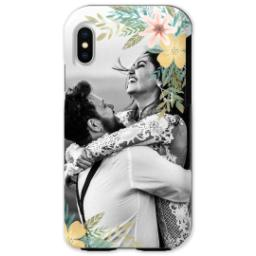 Thumbnail for iPhone X Photo Tough Phone Case with Floral Bunch design 1