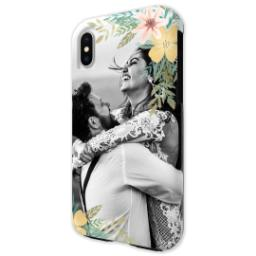 Thumbnail for iPhone X Photo Tough Phone Case with Floral Bunch design 2