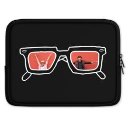Thumbnail for Tablet Case with BW Hipster design 1
