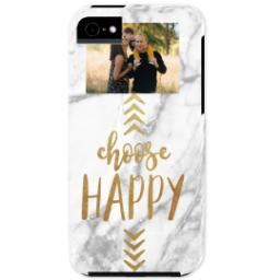 Thumbnail for iPhone 5 Photo Case-Mate Tough Phone Case with Choose Happy design 1