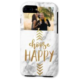 Thumbnail for iPhone 7 Tough Case with Choose Happy design 2