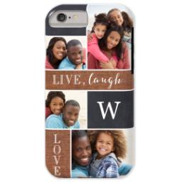 Thumbnail for iPhone 6 Photo Case-Mate Tough Phone Case with Collage Monogram design 1