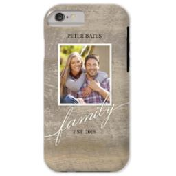 Thumbnail for iPhone 6 Custom Case-Mate Tough Phone Case with Family Style design 1