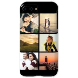 Thumbnail for iPhone 7 Plus Tough Case with Gallery Black Collage for 6 design 1
