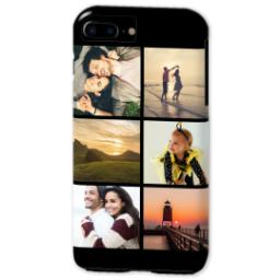 Thumbnail for iPhone 7 Plus Tough Case with Gallery Black Collage for 6 design 2