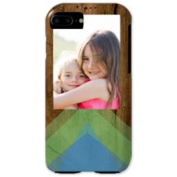 Thumbnail for iPhone 7 Photo Tough Phone Case with Geo Rustic design 1
