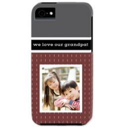 Thumbnail for iPhone 5 Custom Photo Case-Mate Tough Case with Merlot design 1