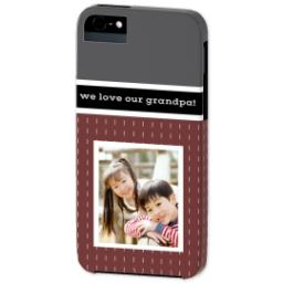 Thumbnail for iPhone 5 Custom Photo Case-Mate Tough Case with Merlot design 2