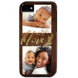 Thumbnail for iPhone 5 Custom Photo Case-Mate Tough Case with Rustic Love design 1