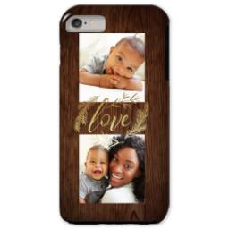 Thumbnail for iPhone 6/6s Plus Photo Tough Phone Case with Rustic Love design 1