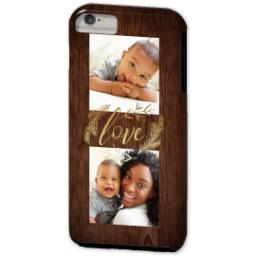 Thumbnail for iPhone 6/6s Plus Photo Tough Phone Case with Rustic Love design 2