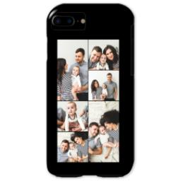 Thumbnail for iPhone 7 Photo Tough Phone Case with Custom Color Collage design 1