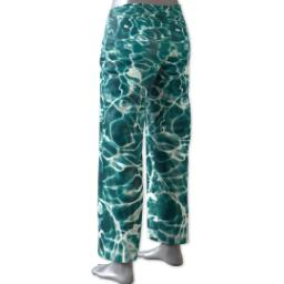 Thumbnail for Pajama Pant (Women M) with Full Photo design 3