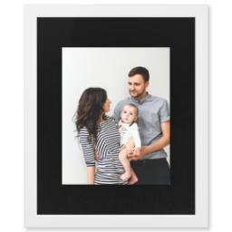 "Thumbnail for 11x14 Photo Matte Print with 16x20 1.25"" White Wood Frame with Full Photo design 1"