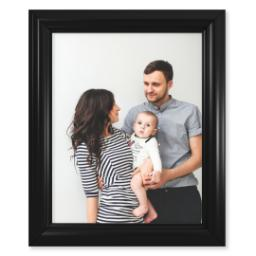 "Thumbnail for 11x14 Photo Matte Print with 11x14 2"" Traditional Black Frame with Full Photo design 1"