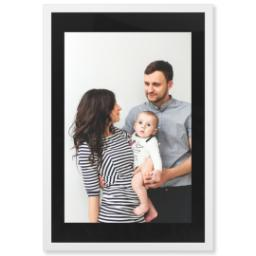 "Thumbnail for 20x30 Photo Matte Print with 24x36 1.25"" White Wood Frame with Full Photo design 1"