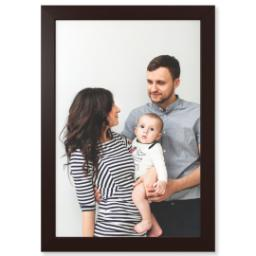 "Thumbnail for 20x30 Photo Matte Print with 20x30 1.5"" Brown Wood Frame with Full Photo design 1"