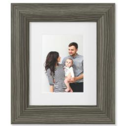 "Thumbnail for 5x7 Photo Matte Print with 8x10 2.25"" Barnwood Frame with Full Photo design 1"